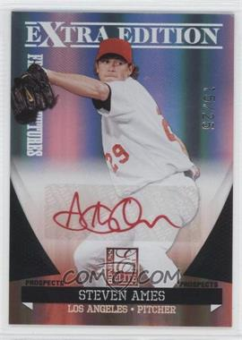 2011 Donruss Elite Extra Edition - Franchise Futures Signatures - Red Ink #94 - Steve Ames /25
