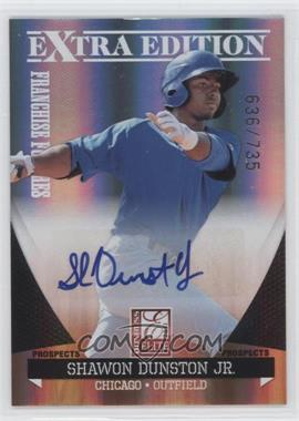 2011 Donruss Elite Extra Edition - Franchise Futures Signatures #152 - Shawon Dunston Jr. /735