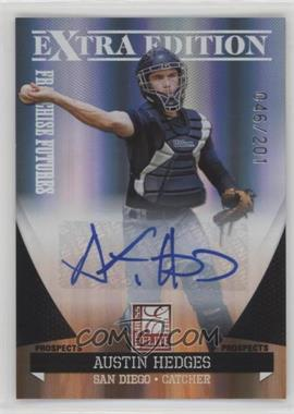 2011 Donruss Elite Extra Edition - Franchise Futures Signatures #28 - Austin Hedges /201