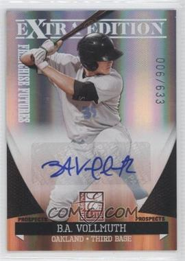 2011 Donruss Elite Extra Edition - Franchise Futures Signatures #30 - B.A. Vollmuth /633