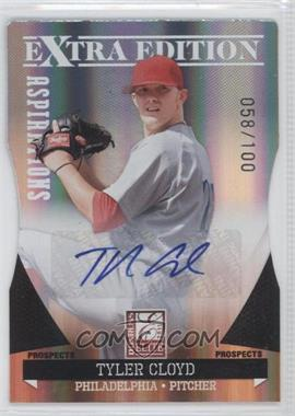2011 Donruss Elite Extra Edition - Prospects - Aspirations Die-Cut Signatures [Autographed] #158 - Tyler Cloyd /100