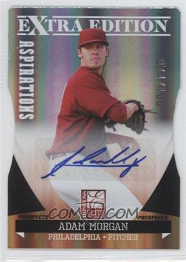 2011 Donruss Elite Extra Edition - Prospects - Aspirations Die-Cut Signatures [Autographed] #21 - Adam Morgan /100