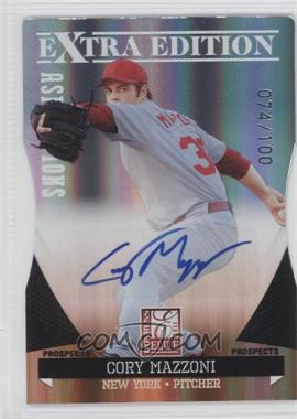 2011 Donruss Elite Extra Edition - Prospects - Aspirations Die-Cut Signatures [Autographed] #4 - Cory Mazzoni /100
