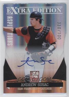 2011 Donruss Elite Extra Edition - Prospects - Aspirations Die-Cut Signatures [Autographed] #89 - Andrew Susac /100