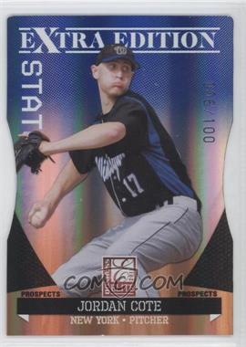 2011 Donruss Elite Extra Edition - Prospects - Blue Status Die-Cut #75 - Jordan Cote /100