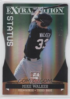 2011 Donruss Elite Extra Edition - Prospects - Emerald Status Die-Cut #179 - Mike Walker /25