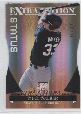 2011 Donruss Elite Extra Edition - Prospects - Gold Status Die-Cut #179 - Mike Walker /10