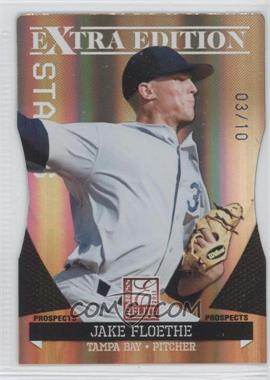 2011 Donruss Elite Extra Edition - Prospects - Gold Status Die-Cut #88 - Jake Floethe /10
