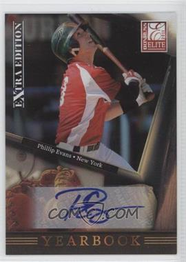 2011 Donruss Elite Extra Edition - Yearbook - Signatures [Autographed] #11 - Phillip Evans /246