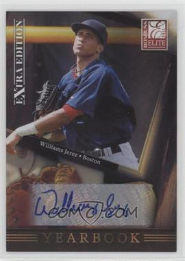 2011 Donruss Elite Extra Edition - Yearbook - Signatures [Autographed] #16 - Williams Jerez /184