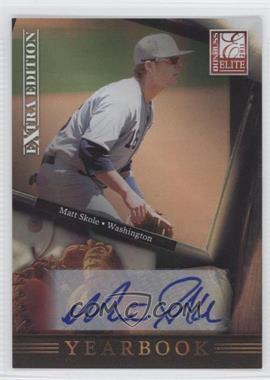 2011 Donruss Elite Extra Edition - Yearbook - Signatures [Autographed] #17 - Matt Skole /899