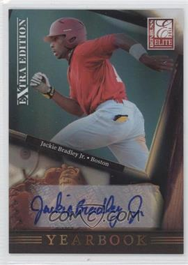 2011 Donruss Elite Extra Edition - Yearbook - Signatures [Autographed] #18 - Jackie Bradley Jr. /49