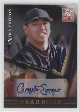 2011 Donruss Elite Extra Edition - Yearbook - Signatures [Autographed] #20 - Angelo Songco /221