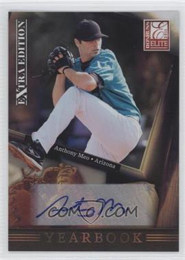 2011 Donruss Elite Extra Edition - Yearbook - Signatures [Autographed] #9 - Anthony Meo /499