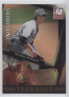 2011 Donruss Elite Extra Edition - Yearbook #17 - Matt Skole