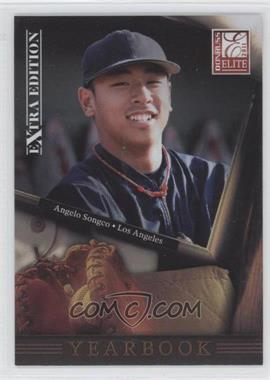 2011 Donruss Elite Extra Edition - Yearbook #20 - Angelo Songco