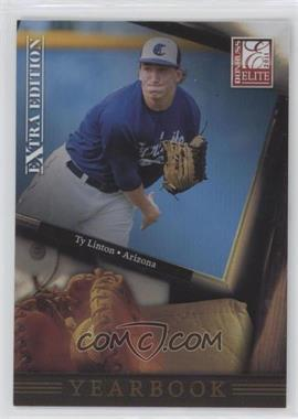 2011 Donruss Elite Extra Edition - Yearbook #7 - Ty Linton
