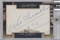 Wes Ferrell [Cut Signature] #8/12