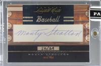 Monty Stratton [CutSignature] #/34