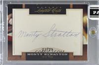 Monty Stratton [CutSignature] #/27