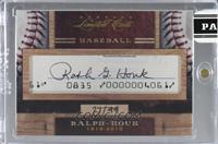 Ralph Houk [CutSignature] #/49