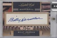 Billy Herman #/49