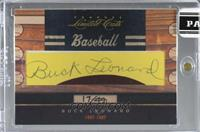 Buck Leonard [CutSignature] #/49