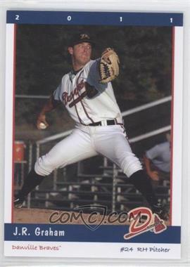 2011 Grandstand Danville Braves - [Base] #24 - J.R. Graham