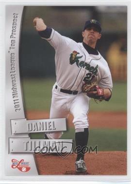 2011 Grandstand Midwest League Top Prospects - [Base] #N/A - Daniel Tillman