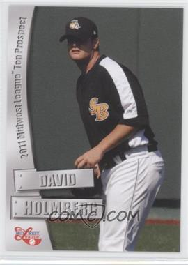 2011 Grandstand Midwest League Top Prospects - [Base] #N/A - David Holmberg