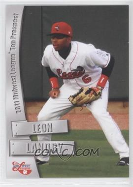 2011 Grandstand Midwest League Top Prospects - [Base] #N/A - Leon Landry