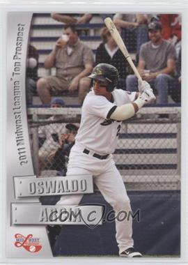 2011 Grandstand Midwest League Top Prospects - [Base] #N/A - Oswaldo Arcia