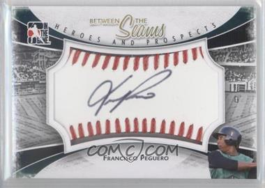 2011 In the Game Heroes and Prospects - Between the Seams - Red Stitch [Autographed] #BTS-FP - Francisco Peguero /30