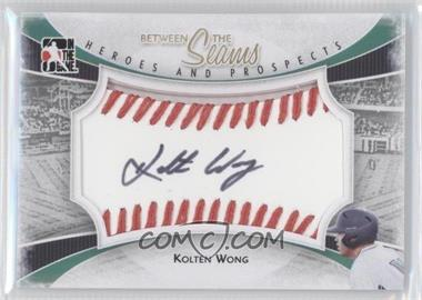 2011 In the Game Heroes and Prospects - Between the Seams - Red Stitch [Autographed] #BTS-KWO - Kolten Wong /30