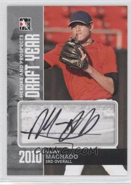 2011 In the Game Heroes and Prospects - Draft Year - Silver [Autographed] #DY-MMA - Manny Machado /39
