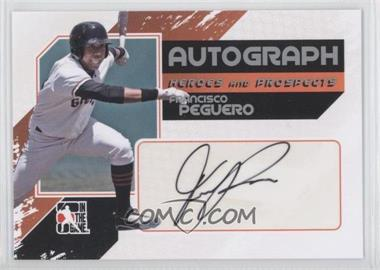 2011 In the Game Heroes and Prospects - Full Body Autograph - Silver #A-FP - Francisco Peguero /390