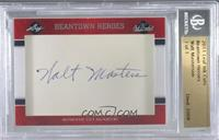 Beantown Heroes - Walt Masterson (Signed by Walt Masters) [BGS Authentic] …