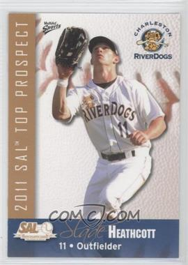 2011 MultiAd Sports South Atlantic League Top Prospects - [Base] #11 - Slade Heathcott