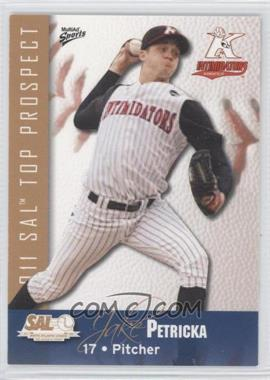 2011 MultiAd Sports South Atlantic League Top Prospects - [Base] #18 - Jake Petricka