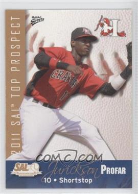 2011 MultiAd Sports South Atlantic League Top Prospects - [Base] #19 - Jurickson Profar