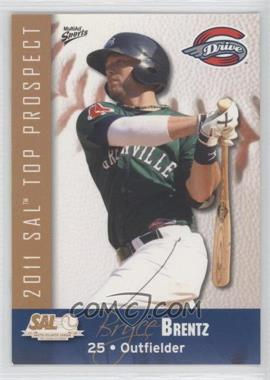 2011 MultiAd Sports South Atlantic League Top Prospects - [Base] #3 - Bryce Brentz