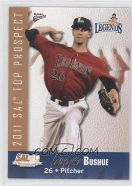 2011 MultiAd Sports South Atlantic League Top Prospects - [Base] #5 - Tanner Bushue