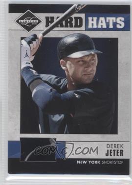 2011 Panini Limited - Hard Hats #1 - Derek Jeter /90