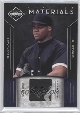 2011 Panini Limited - Limited Materials - Prime #10 - Frank Thomas /49
