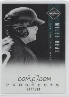 2011 Panini Limited - Prospects - OptiChrome #22 - Miles Head /199