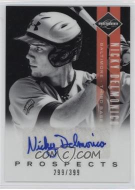 2011 Panini Limited - Prospects - Signatures [Autographed] #17 - Nicky Delmonico /399