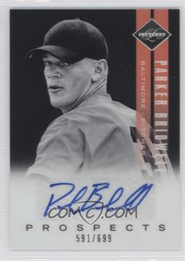 2011 Panini Limited - Prospects - Signatures [Autographed] #18 - Parker Bridwell /699