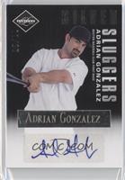 Adrian Gonzalez #/25