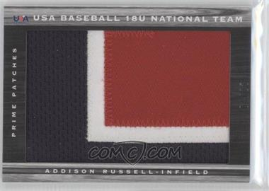 2011 Panini Limited - USA Baseball 2011 National Teams - Prime Patches [Memorabilia] #35 - Addison Russell /25