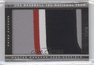 2011 Panini Limited - USA Baseball 2011 National Teams - Prime Patches [Memorabilia] #52 - Hunter Mercado-Hood /25